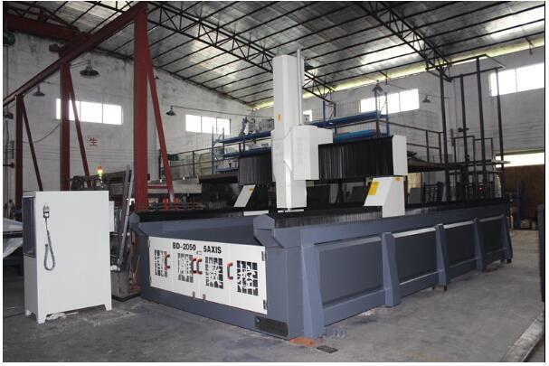 CNC五轴加工中心台面的清洗方法