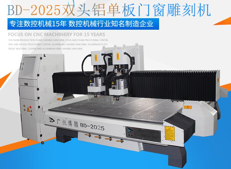 BD-2025双头铝单板铝门